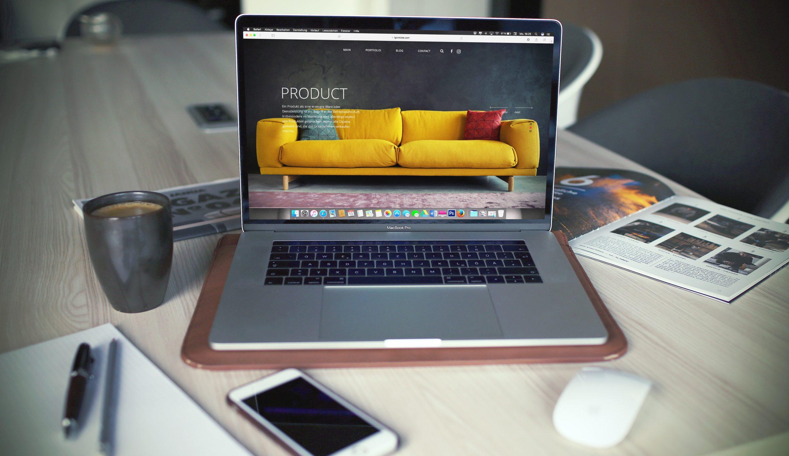 site vitrine site e-commerce site marchand